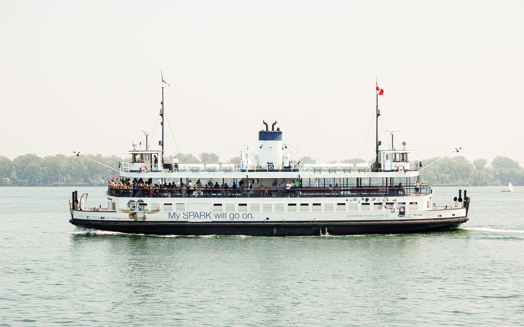 A Ferry in Toronto Harbour