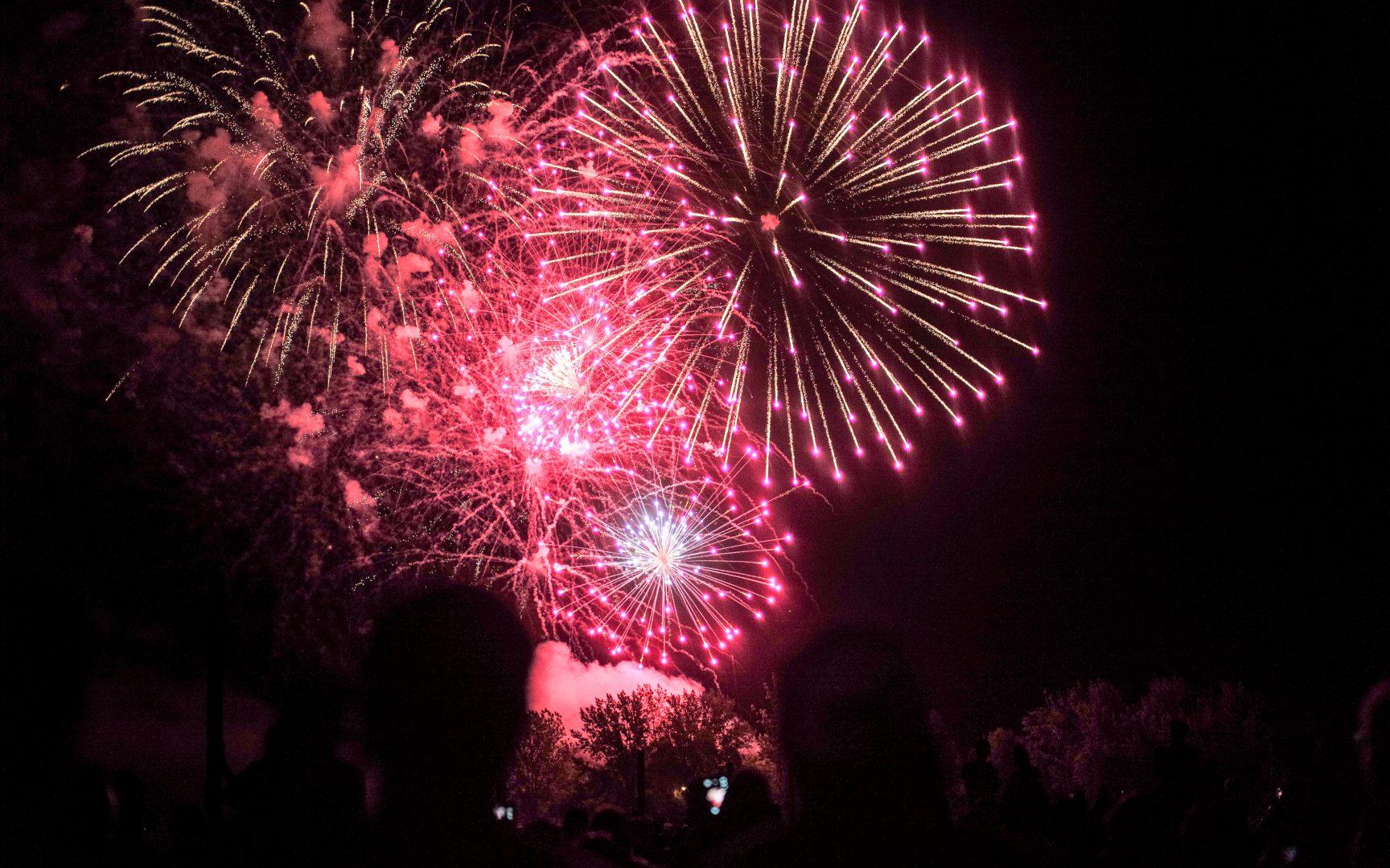 Canada Day Fireworks at Ashbridge's Bay, Photo by Shane Carslake