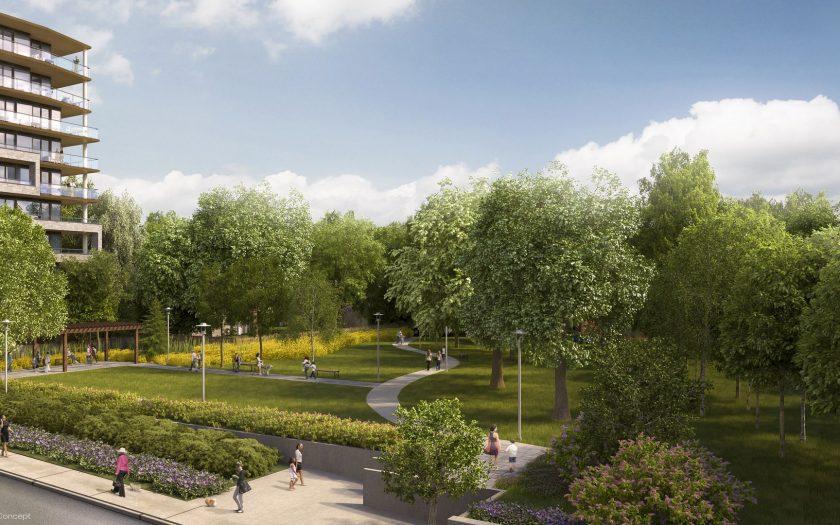 Adjacent Robertson Davies Park
