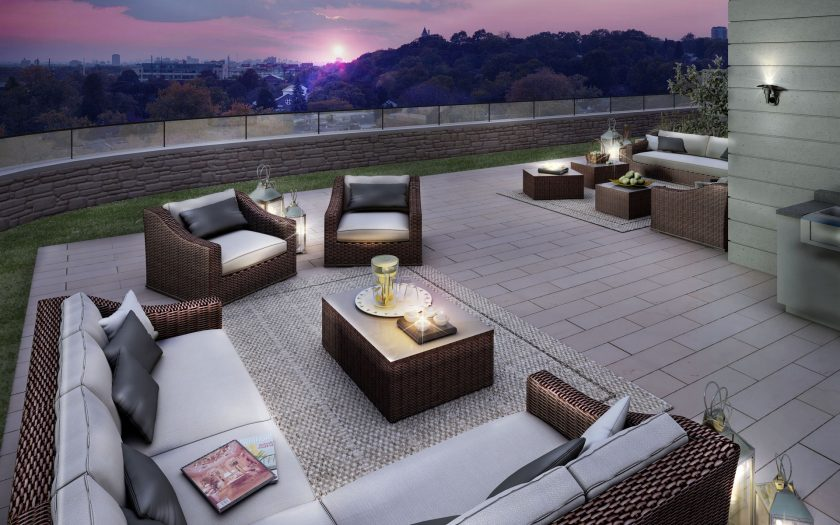 Enjoy a nightcap in The Davies rooftop lounge