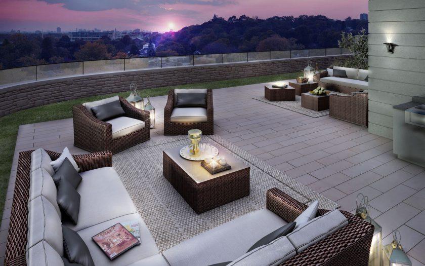 Enjoy a nightcap in The Davies rooftop lounge