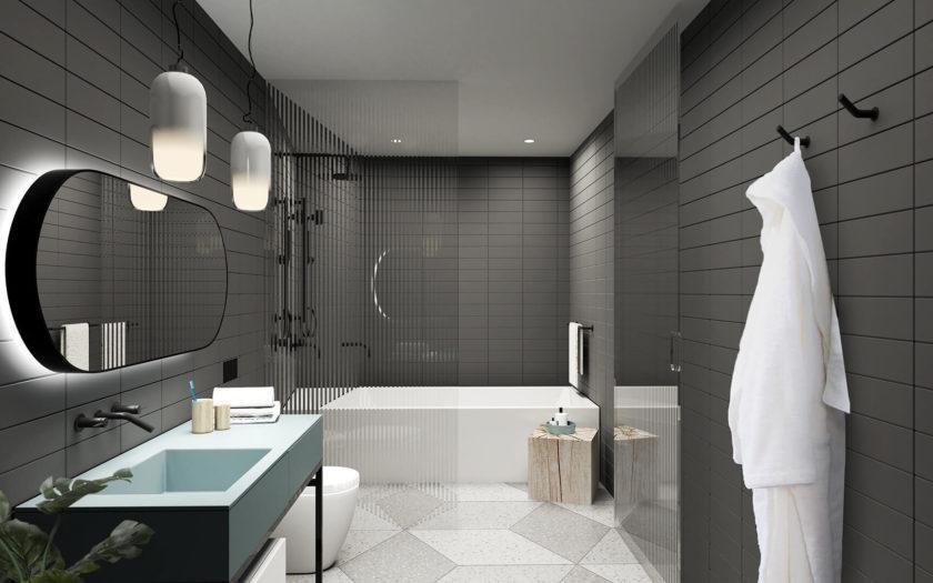 Dark Bathroom 2