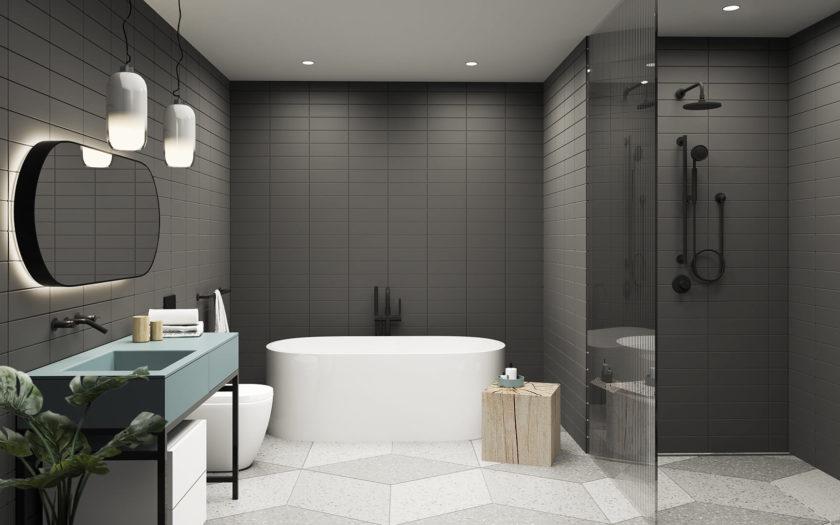 Dark Bathroom 1