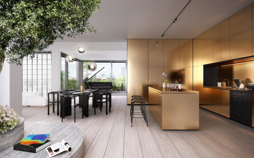 The Penthouses at KING Toronto