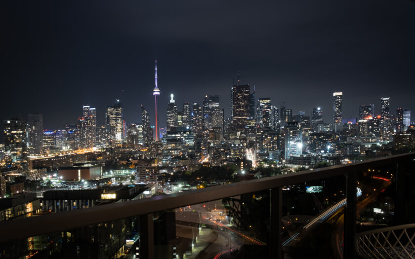 (c) Photo of RC3 Condo at night by A.P. exclusively for SHANE.